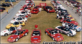 1995 Corvette Challenge Car Reunion - Corvettes at Carlisle
